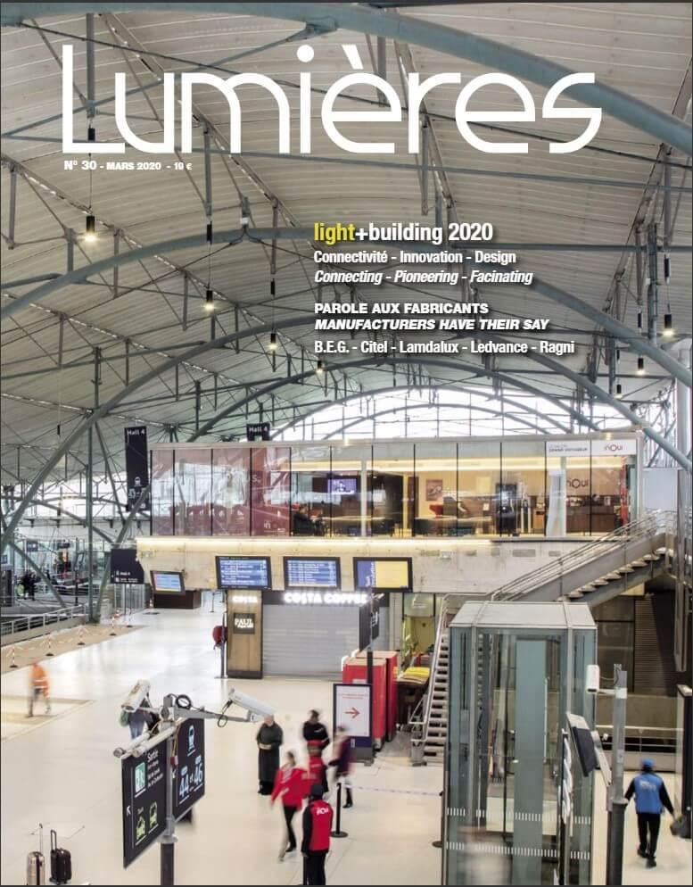 couverture revue Lumières mars 2020