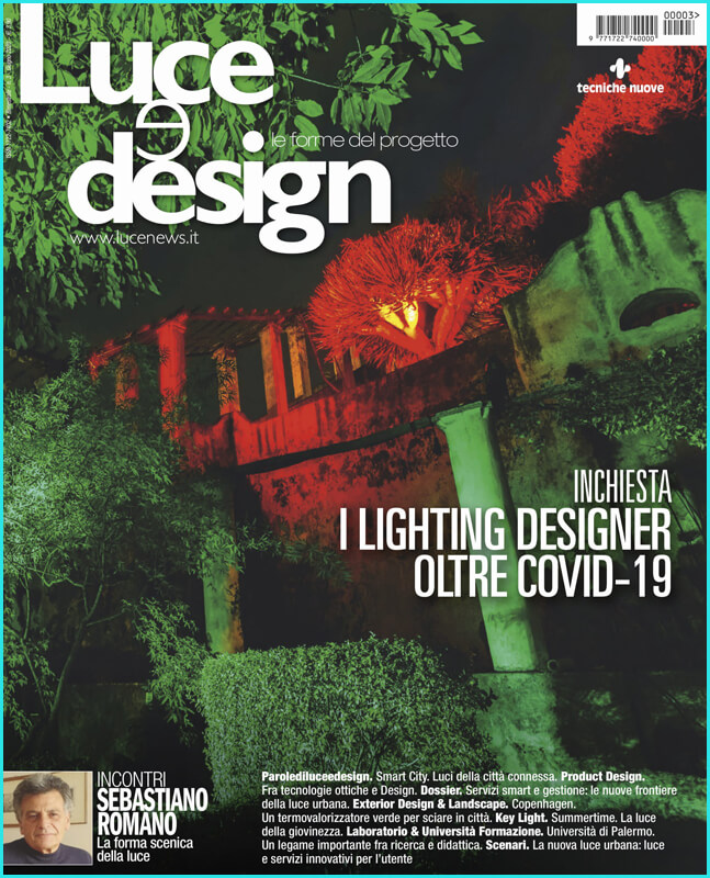 couverture Luce e Design, juin 2020