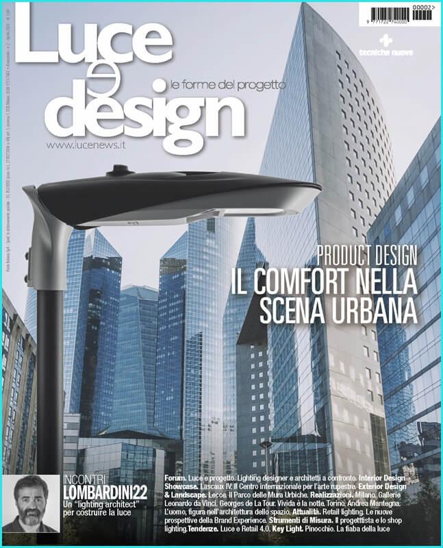 couverture Luce e Design avr 2020