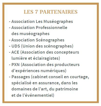 Liste des 7 partenaires XPO